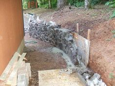 Retaining Wall 4 – Famous Last Words Landscaping Around Trees, Shade Landscaping, Landscaping Retaining Walls, Hillside Landscaping, Farmhouse Landscaping, Landscaping With Rocks, Front Yard Landscaping, Pool Landscape Design, House Landscape