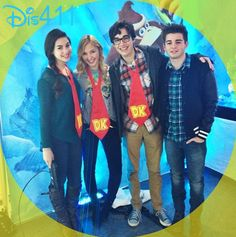 "Photo: Joey Bragg With Audrey Whitby And More At Nintendo's ""Donkey Kong Country: Tropical Freeze"" Event"