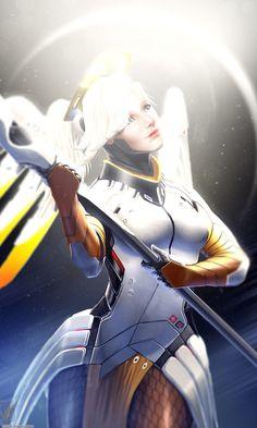 ArtStation - Overwatch: Mercy, Georgy Stacker