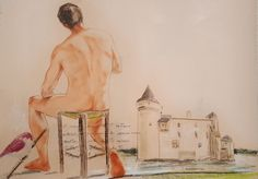 ammira (Pittura),  70x50 cm da paolo archilei pastello su cartoncino