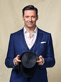 Hugh Jackman as James Nickelson, oh yes! Thanks to The Greatest Showman for making me realize there is a Hollywood worth man to play him <3