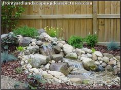 Another rock fountain idea for the backyard.