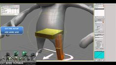 CAT Tutorial: (Ch1 : Rig-PartA) -Character Rigs for UDK(Unreal) using CA...