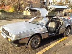 Super Star Wedding Cars - Back to the Future Delorean Wedding Car - Star Car Hire - www.crazylilweddings.com