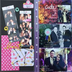 Layout and Project Life spread. LetterGlow to add background, text and embellishments to pix.