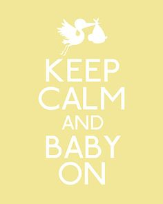 "free ""keep calm"" baby printable from the hands-on housewife    http://handsonhousewife.blogspot.com/2012/01/babies-babies-babies.html"