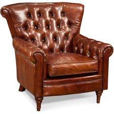 1000 ideas about brown leather chairs on pinterest for Bellagio button tufted leather brown chaise