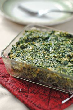 Spinach Kugel April 3, 2014 by Allison 3 Comments  Spring is definitely here. I know this because I saw the first bug crawling up the scr...