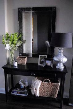 Diele, Flur und Eingangsbereich stilvoll einrichten mit einem Sideboard oder Konsole
