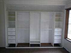 mirrored wardrobe closet - Google Search
