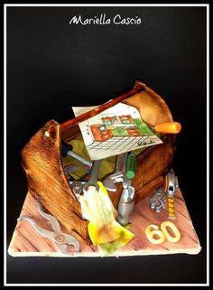 3D tools cake  Cake by Mariella Cascio
