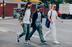 The Best-Dressed Men From New York Fashion Week Photos   GQ