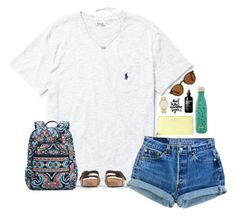 Going to Tennessee soon! by sassysouthernprep99 on Polyvore featuring Levis, Vera Bradley, Kate Spade, Kendra Scott, Ray-Ban, Ralph Lauren, Swell, J.Crew and PAM