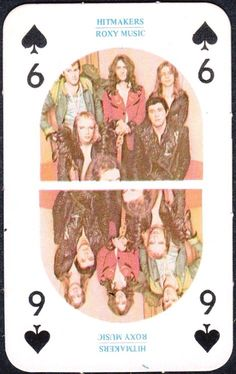 Roxy Music playing cards?