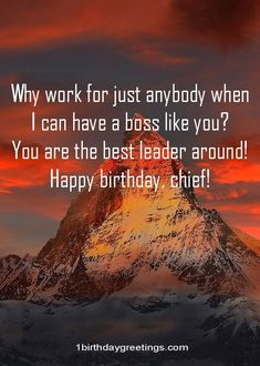 Birthday Wishes for Boss: Being a leader or boss is not always easy, but rather it can be rewarding.Create a good relationship with clients and respect fro