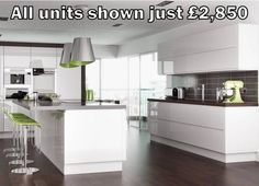 Curved Units For Handleless Kitchen Style House Pinterest Mores Kitchen And Units