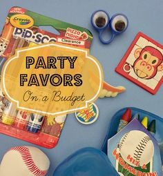 Party Favors on a Budget | Tips from Around My Family Table