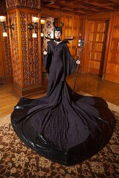 Accurate Maleficent costume cosplay
