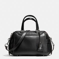 ≪COACH≫|ACE SATCHEL IN GLOVETANNED LEATHER