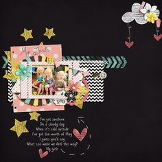"""#scraptunes Kit:Luv U 2 Pieces by Down This Road http://scraporchard.com/market/images/P/DTRD_Luv-U-2-Pieces.png Template: Megan Turnidge Tuesday Templatee 53 Song: """"My Girl"""" by Michael Jackson"""