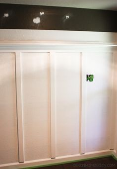 Entryway Board and Batten Tutorial - Ask Anna