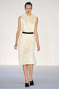 Jill Stuart Spring 2011 Ready-to-Wear Fashion Show - Lisanne De Jong