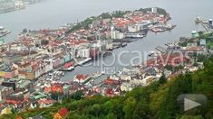 Bergen, Norway's second-largest city, is a city full of history and tradition, with small-town charm and atmosphere. Surrounded by seven mountains, is ideal for also enjoying the beauties of nature. Bergen, Hd Video, Small Towns, Stock Footage, Norway, Paris Skyline, Natural Beauty, Mountains, History