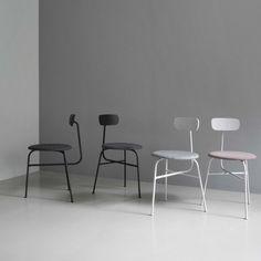 Menu Afteroom Chair Black Stoel zwart
