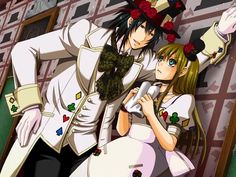 Heart no Kuni no Alice (Alice In The Country Of Hearts) Image - Zerochan Anime Image Board Mature Images, Alice Liddell, Heart Images, Cartoon Movies, Black Butler, Image Boards, Anime Love, Cute Art, Alice In Wonderland