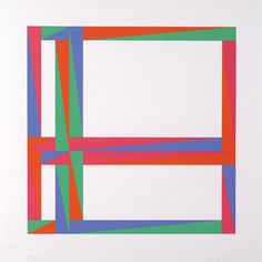 Max Bill, Untitled. 1972, screenprint. Collection of the Albright-Knox Art Gallery.