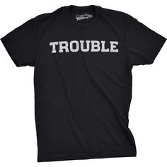 Trouble Funny Kids T shirt Cool Toddler Tee Baby Bodysuit Creeper