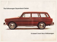 1965 Volkswagen Type 3 Squareback Brochure | OldBrochures.com