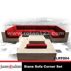 Siane Sofa L Corner Set Rotan Sintetis SLRT004 copy