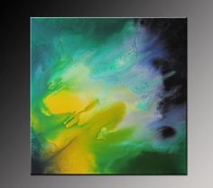 Original Abstract Painting Modern Canvas Art by VivianaFleing, $175.00