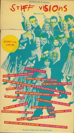 Stiff Visions Vol. 1 by Ron-Kane, via Flickr (designed by Barney Bubbles)