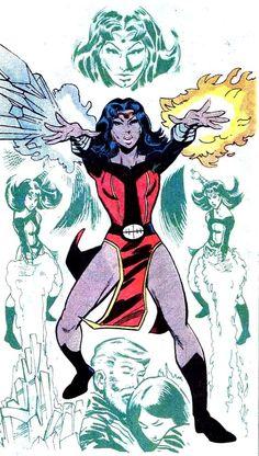 Celsius (Doom Patrol) by Joe Staton. Superhero Villains, Comic Book Superheroes, Comic Books, Gi Joe, Leonard Snart, The New Mutants, Doom Patrol, Comics Universe, Dc Heroes