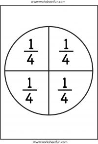 fraction circles   worksheets    fraction circles