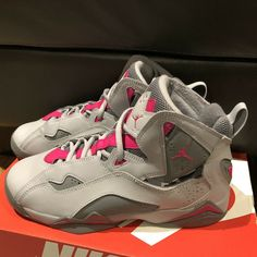 7ee35638531a Air Jordan True Flight Nike Girls Size 7.5Y Shoes 342774-018 Youth Kids  Gray  fashion  clothing  shoes  accessories  kidsclothingshoesaccs   girlsshoes (ebay ...