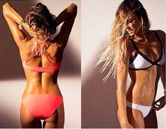 Rip Curl surf bikinis. Genius design and sexy