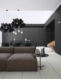 Minimalism Meets Sober Patterns in Modern Apartment, Crimea