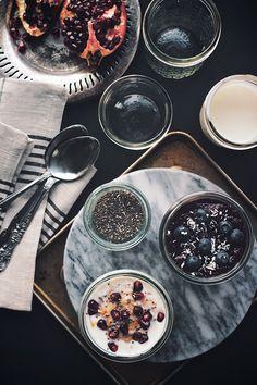Chia Breakfast Parfaits | The Artful Desperado