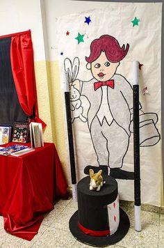 """Curso 2012/13. XV Semana Cultural.""""El Circo"""" Lema: """"Había una vez un circo que…"""