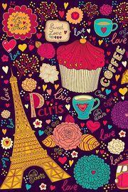 coffee, cupcakes, girly, love, paris, tea, tumblr, wallpapers | Cupcake | Pinterest