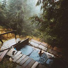 Hot Springs Photo by @andrewtkearns #modernoutdoorsman
