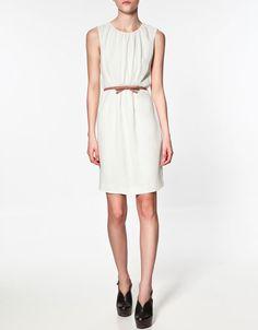 Zara Dress with Bow Belt Grad Dresses, Satin Dresses, Dresses For Sale, Dresses For Work, Summer Dresses, Comfy Dresses, Simple Dresses, Casual Dresses, Elegant Dresses