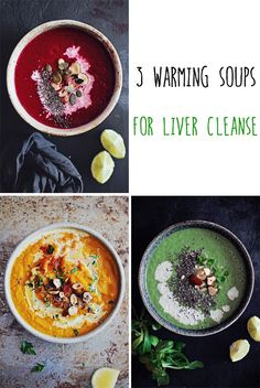 3 Warming Soups for Liver Cleanse