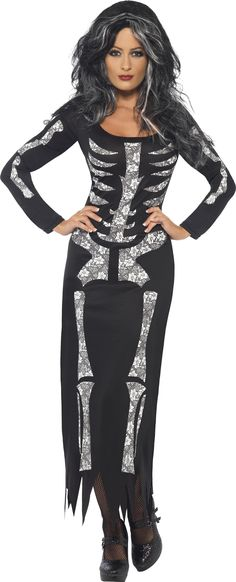 Smiffys Skeleton Costume