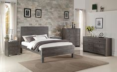 Omni Bed EstrnKing Ash NoFrame - Beds - Furniture - Products | Classic Home