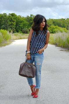 The Chicest Ambry: Polka Dot Red