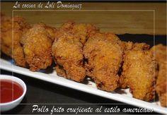 Pollo frito crujiente al estilo americano | Cocina